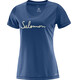 Salomon W's Mazy Graphic SS Tee deep cobalt